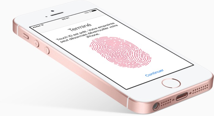 Apple iPhone SE : Touch ID