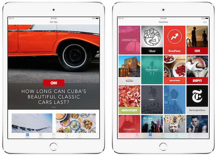 Apple News va s'ouvrir à davantage d'éditeurs