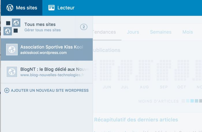 Application de bureau WordPress : ajout d'un site auto-hébergé après l'installation de Jetpack