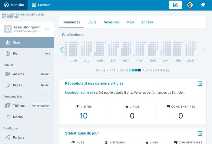 Application de bureau WordPress : pleins de fonctionnalités offertes
