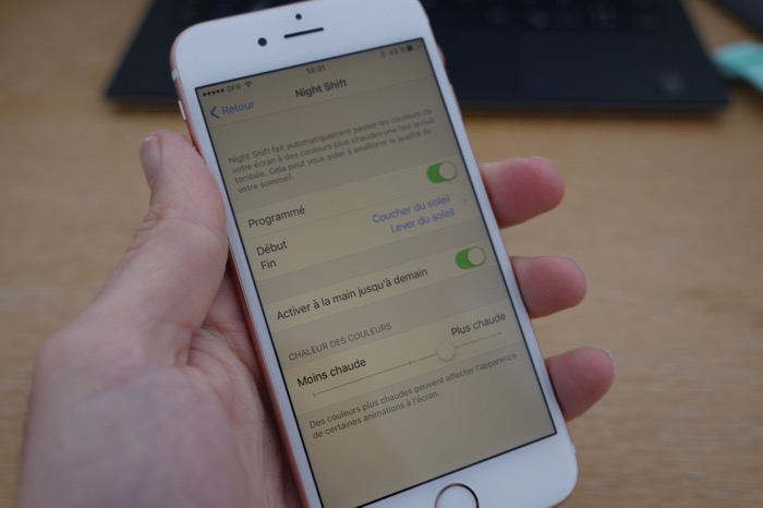 Comment faire pour activer Night Shift sur un iPhone ou un iPad