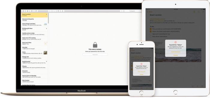 Comment protéger par un mot de passe vos notes dans iOS 9.3