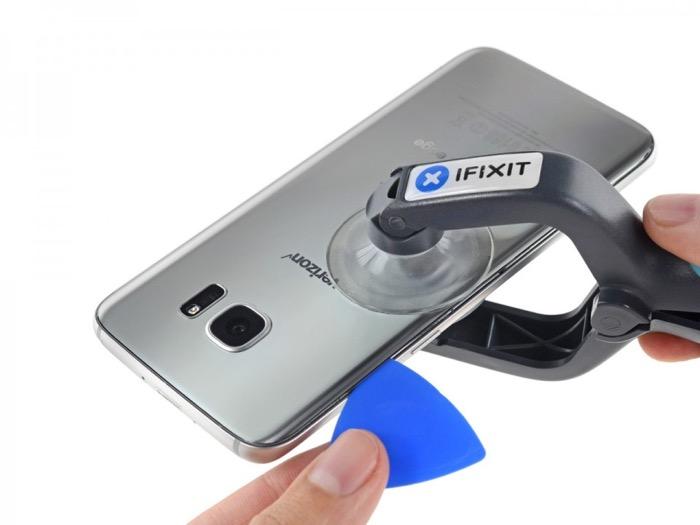 Galaxy S7 : le démontage de l'écran est quasi impossible