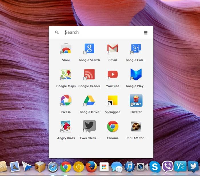 Google abandonne son lanceur d'applications Chrome pour Mac, Windows et Linux