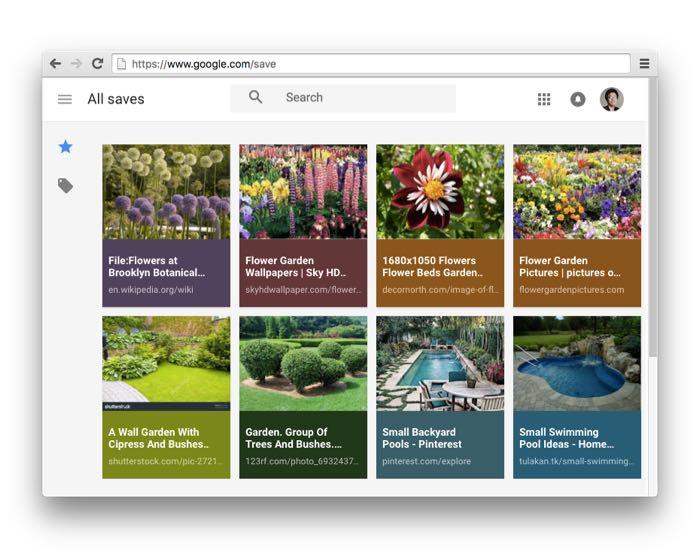 Google permet de marquer des images et les ajouter aux collections