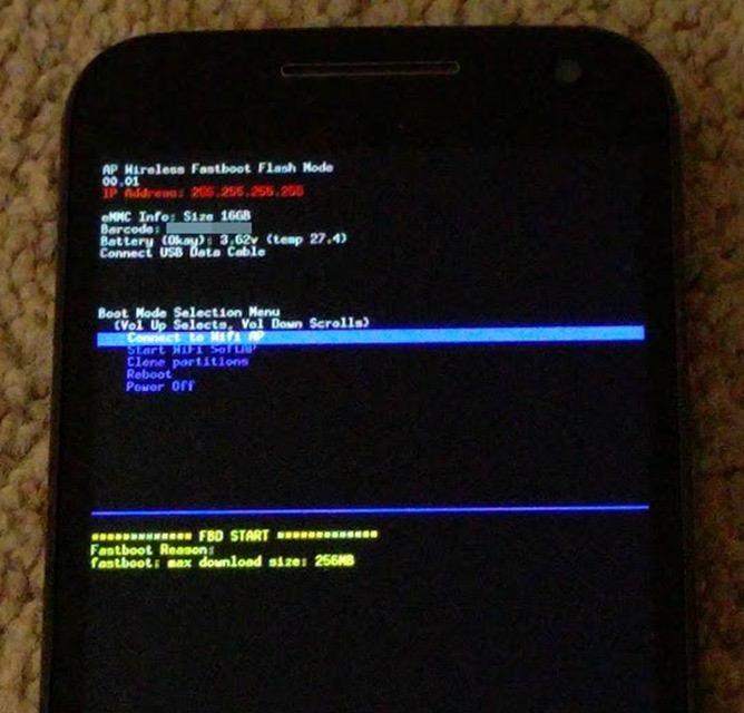 Prochainement, vous pourrez flasher une ROM Android personnalisée en Wi-fi