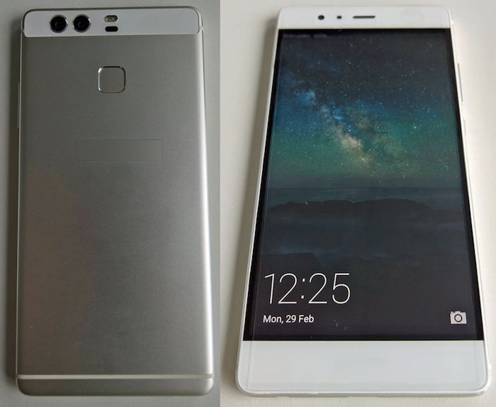 Huawei P9 : la configuration à double caméra se montre en photos