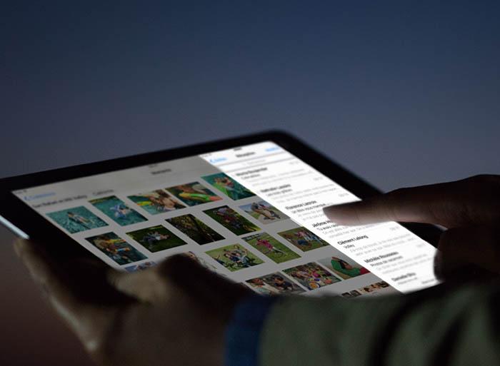 iOS 9.3 : Night Shift