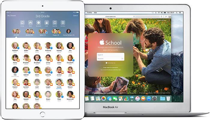 iOS 9.3 : iOS dans l'Éducation