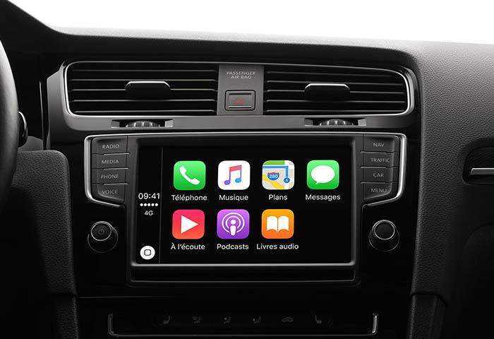 iOS 9.3 : Carplay