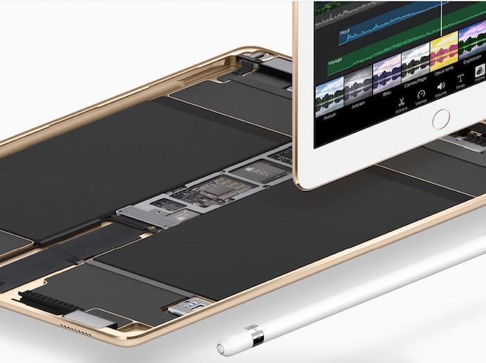 L'iPad Pro de 9,7 pouces est bien plus lent que l'iPad Pro de 12,9 pouces
