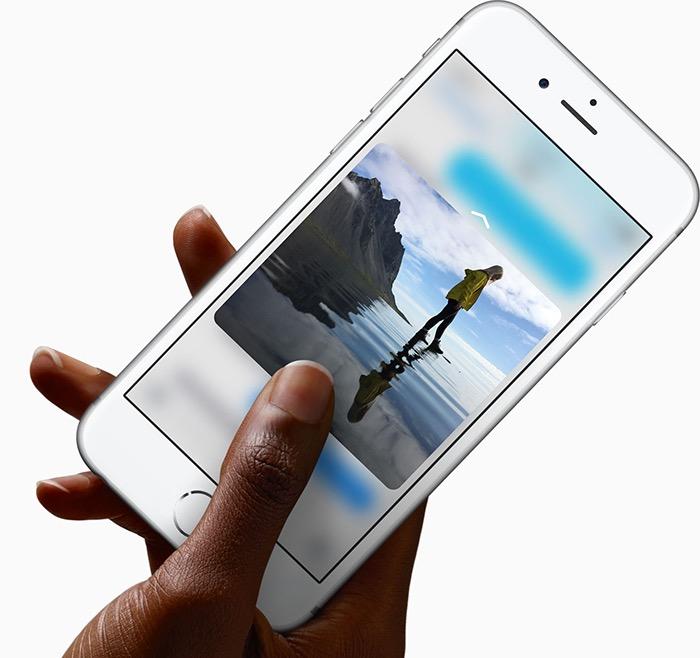 iPhone SE : pas de 3D Touch