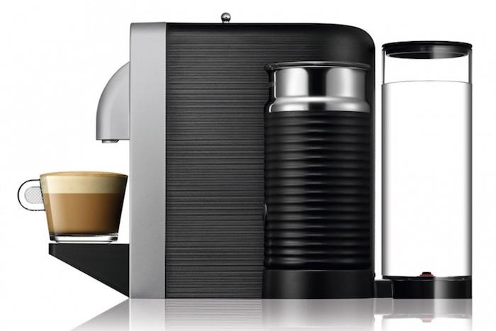 Nespresso Prodigio : vue de côté