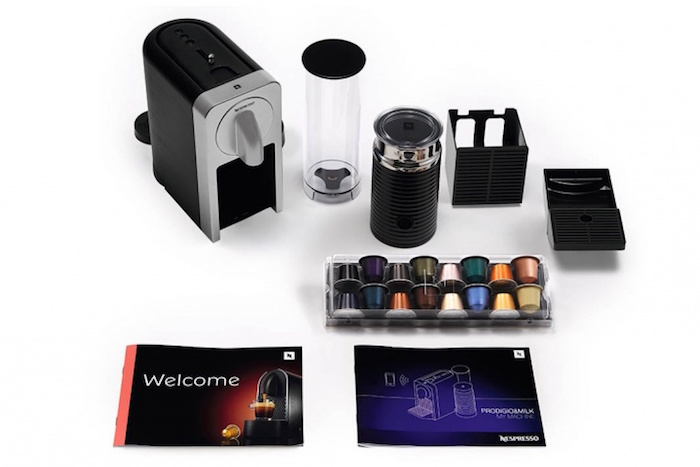 Nespresso Prodigio : packaging complet