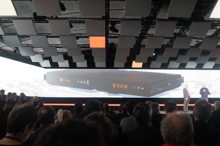 Nouvelle Livebox d'Orange et son boîtier TV