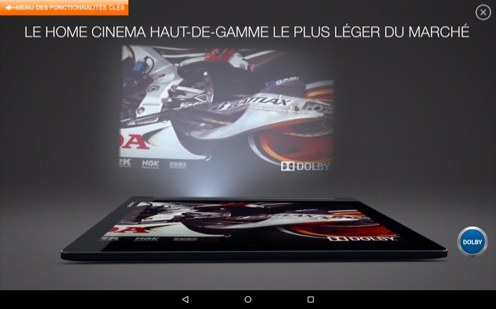 Lenovo YOGA Tab 3 Pro : idéale pour la projection de films