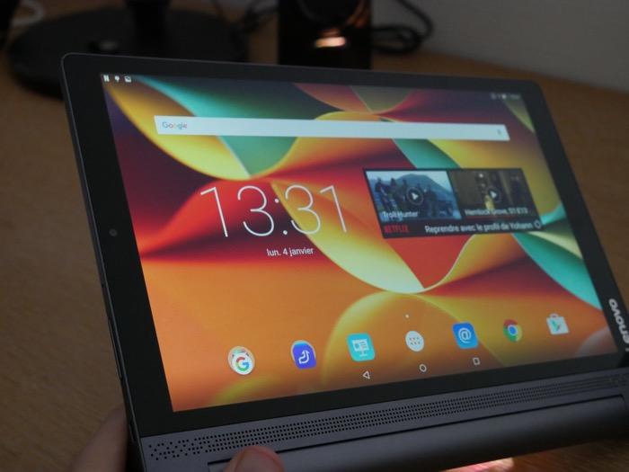 Lenovo YOGA Tab 3 Pro : vue de face
