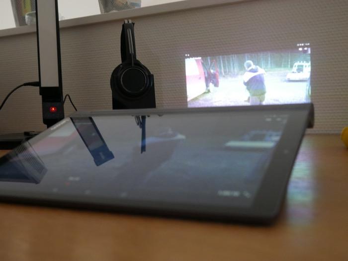 Lenovo YOGA Tab 3 Pro : affichage optimal dans le noir