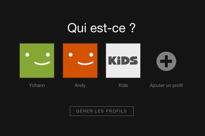 Netflix : vous pouvez créer plusieurs comptes