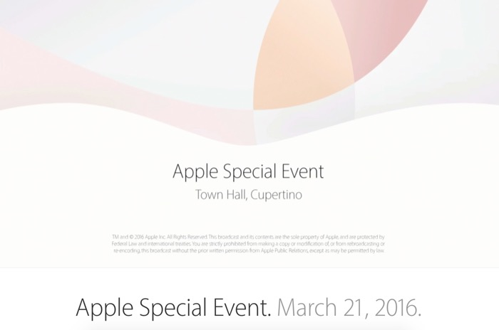 Keynote Apple du 21 mars