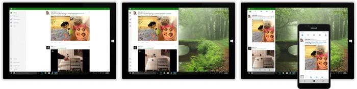 Twitter pour Windows 10 Mobile : Universal Windows Platform