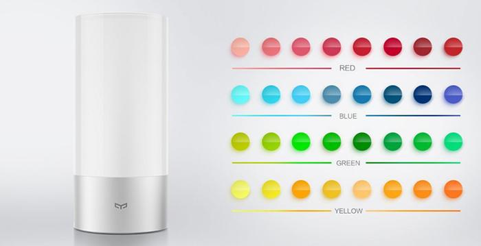 Xiaomi Yeelight : multiples coloris