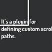 5 plugins jQuery libres à avoir pour les concepteurs Web – jQuery Scroll Path