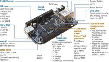 À 45 dollars le BeagleBone Black est une alternative plus puissante au Raspberry Pi