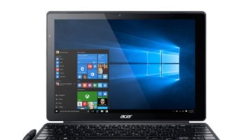 Acer Aspire Switch Alpha 12S : vue de face
