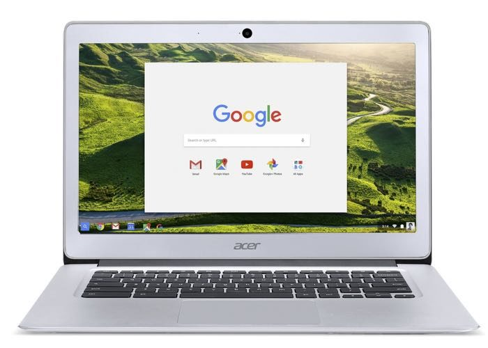 Acer Chromebook 14 : vue de face