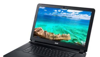 Acer Chromebook C910 : vue de face