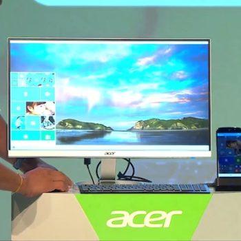 Acer Jade Primo : le smartphone livré avec souris, clavier et dock PC