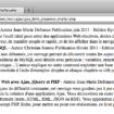 Afficher des résultats instantanés en utilisant jQuery, XML et PHP – Résultat d