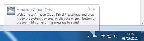 Amazon Cloud Drive, une énième application de stockage sur le cloud ? – Icône sous Windows
