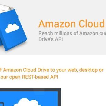 Amazon lance Cloud Drive API pour les développeurs d