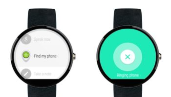 Android Device Manager sur Android Wear