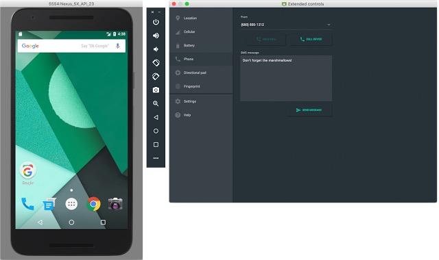 Android Studio 2.0 : émulateur Android