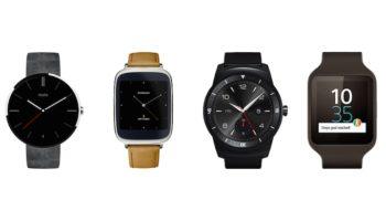 Smartwatches Android Wear annoncées à l