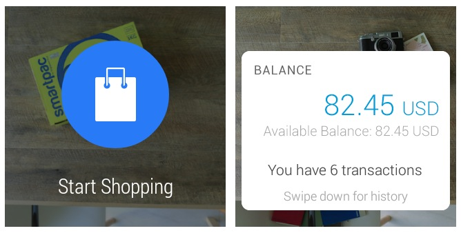 PayPal sur Android Wear