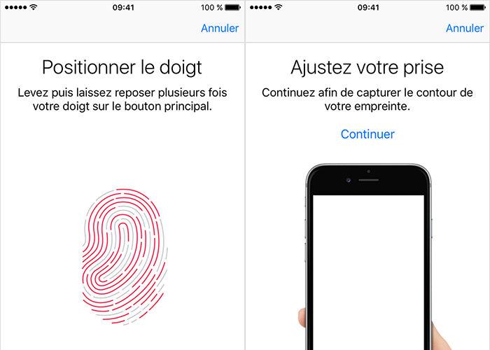 Apple pourrait vous permettre de téléverser et télécharger vos empreintes digitales