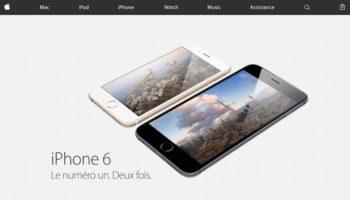 Apple.com obtient une refonte