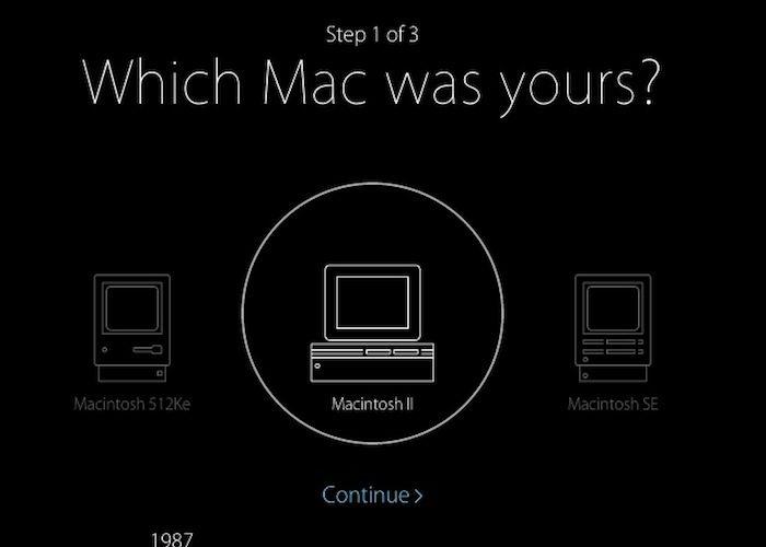 Mon premier Mac