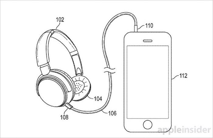 Apple montre un brevet d'un casque qui passe du filaire au sans-fil