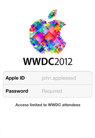 Apple propose le calendrier de la WWDC 2012 et une app iOS, pour une keynote le 11 Juin