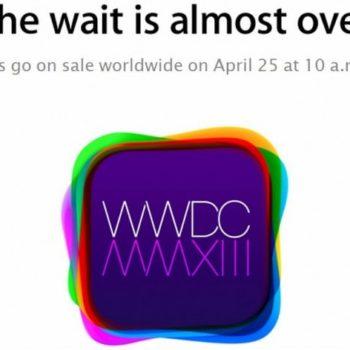 Apple tiendra sa célèbre WWDC le 10 juin, attendez-vous à des nouvelles sur iOS 7 et OS X