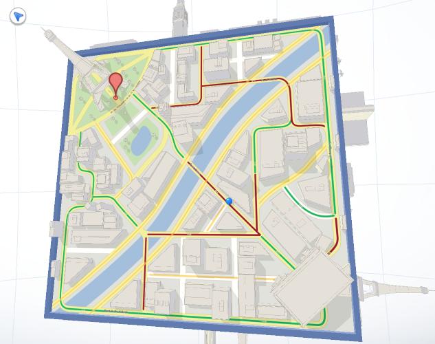 Cube : Explorez votre monde avec un jeu sur Google Maps, à l