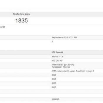 Le HTC One A9 pourrait être le smartphone le plus puissant au monde