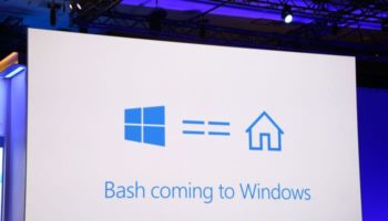 Microsoft embarque le bash dans Windows 10