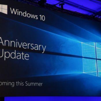 Build 2016 : Microsoft Windows 10 Anniversary Update