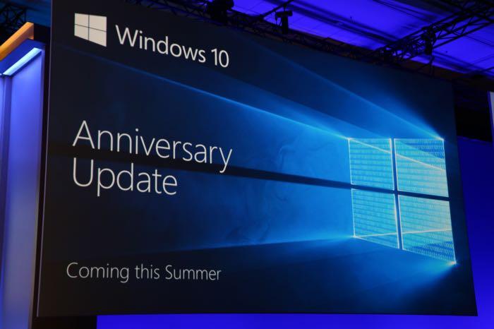 BUILD 2016 : Microsoft annonce Windows 10 Anniversary Update pour cet été